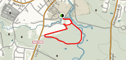 Exeter River Trail Map