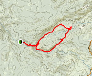 Caples Creek Loop Trail Map