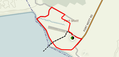 Finn's Point Loop Map