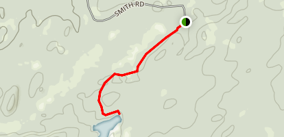 Panther Pond Trail Map