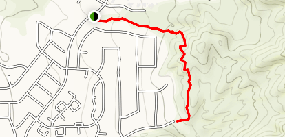 North Whisper Ranch Trail Map