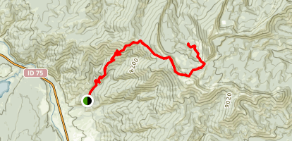 Boundary Creek Map