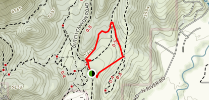 Cottontrail Loop Map