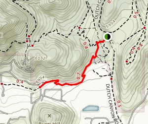 Interlaken Trail Map