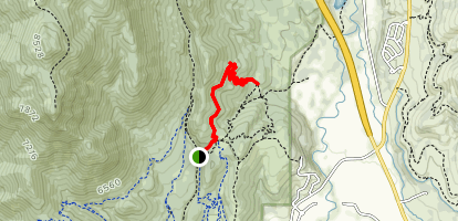 1000 Turns Trail Map