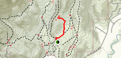 The Barrel Trail Map