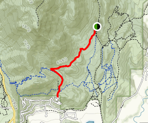 Prospect Trail Map