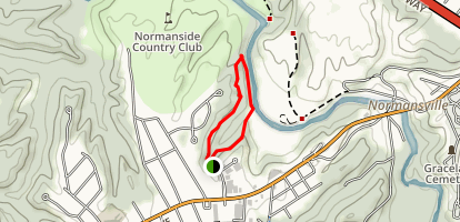 Normans Kill Preserve - West Trail Map