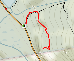 Saco Lake and Elephant Head Trail Map