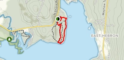 Paradise Point Trail Map