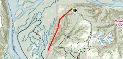 Sentinel Ridge Trail  Map