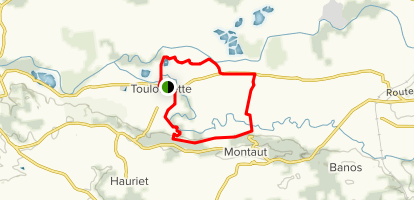 The Toulouzette-Montaut Loop Map