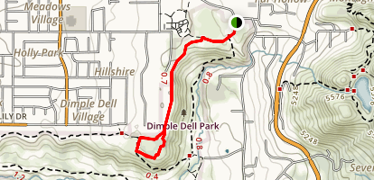 Fox Point Loop Trail Map