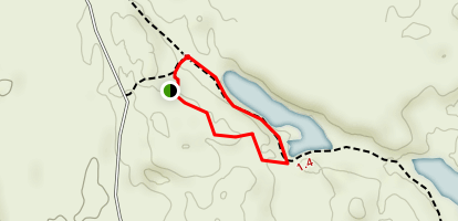 Marco Polo Lake Trail Map