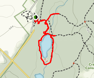Crawford Lake Loop Trail Map