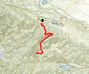 Lake Hughes Truck Trail Map