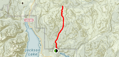 Middle Pilgram Creek Trail Map