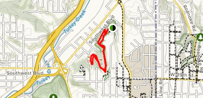 Mt. Marty Trails Map