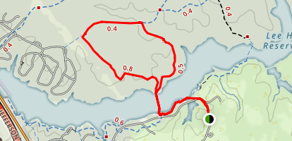 Long Meadow Trail Map