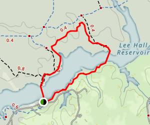 White Oak Trail Map
