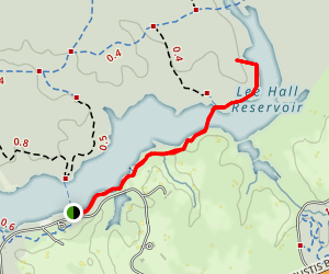 Swamp Fire Trail Map