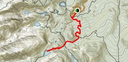 The Loch Lake Trail Map