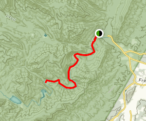 North River Gorge Trail Map
