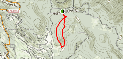 Short Cut Ski Trail Map