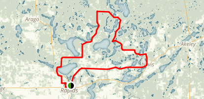 Headwaters Classic Ride Map