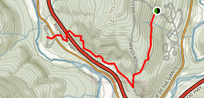 Hidden Springs Trail Map
