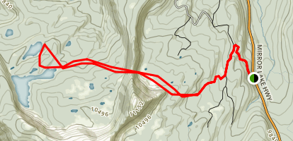 Fish Lake Alternate Route Map