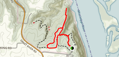 Hickory Trail Map