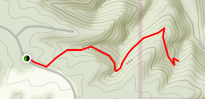 Sand Cave Trail Map
