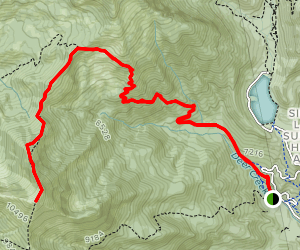 Box Elder Peak Trail Map