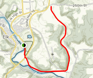 Pony Hollow Trail Map