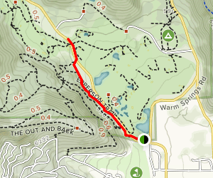 Huber Grove Trail Map