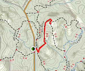 Big Rock Trail Map