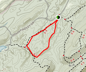 Maggies Glen Loop Hike Map