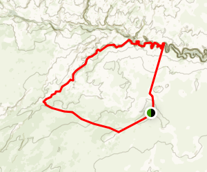 Coyote Gulch and Hurricane Wash Loop Trail Map