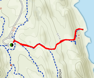 Shoreline Trail to Horsetooth Reservoir Map