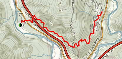 Williams Grove Trail Map