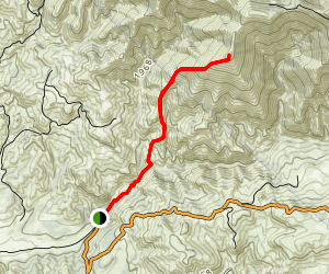 Grass Mountain Trail  Map