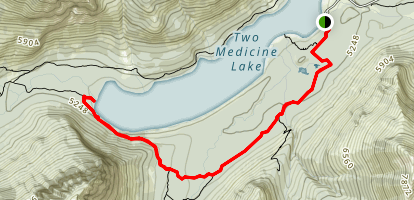 South Shore Trail Map