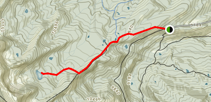 Hardscrabble and Williams Lakes Map