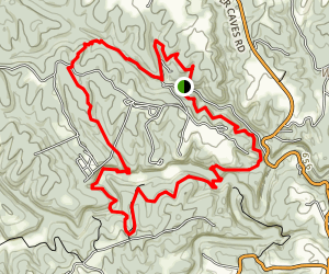 Carter Caves Loop Trail Map