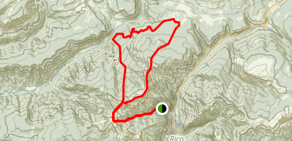 Johnny Bull Trail Map