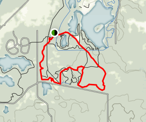 Red and Yellow Trails Loop Map