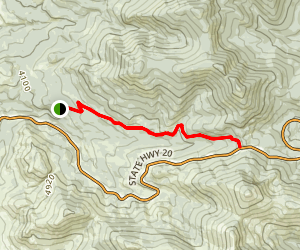 Sherman Pass Trail Map