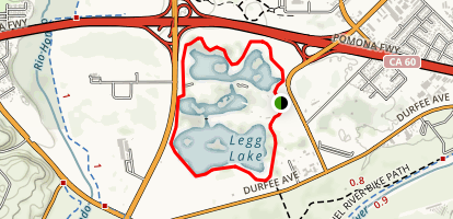 Legg Lake Loop Trail Map