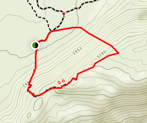 Marshal South Cabin Trail Map